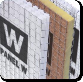Panel w para construir muros y losas materiales el topollo for Materiales para un muro verde