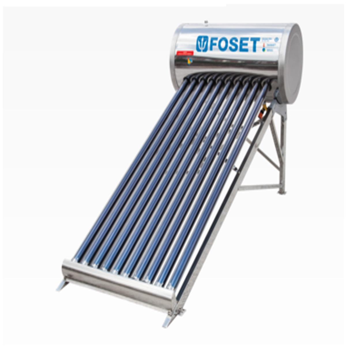 Calentador solar 100 litros foset 45270 materiales el - Calentadores de agua baratos ...