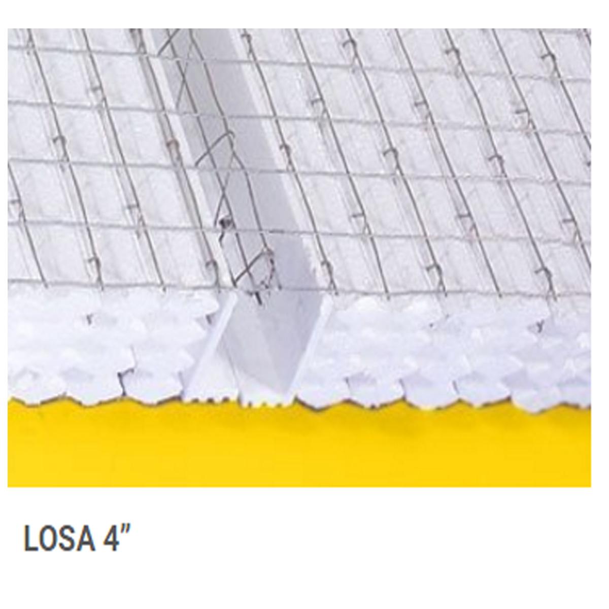 Panel para losa 5x5cm 4 panel w materiales el topollo for Losas de pared